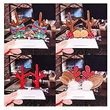 UGKU 8PCS Conception de Noël pinces à cheveux mignonnes, belles barrettes de Noël en épingle à cheveux, accessoires de cheveux pour filles enfants fête d'enfants