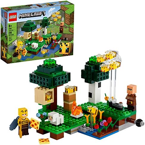LEGO Minecraft The Bee Farm 21165 Minecraft Building Action Toy with a Beekeeper Plus Cool Bee product image