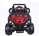 Talreja Enterprises Battery Operated Ride on Jeep for Kids, TJQ900 Double Battery Double