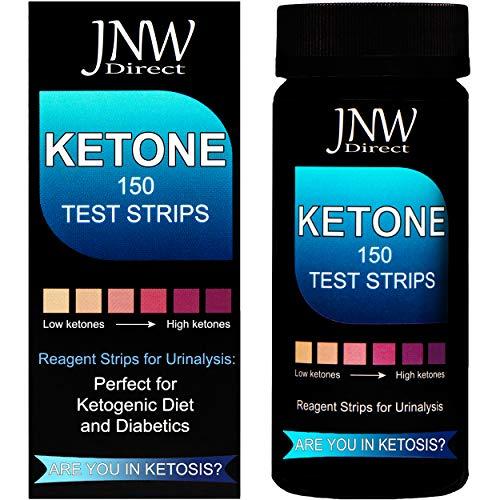 Ketone Test Strips, 150 Urinalysis Keto Test Strips for Testing Body Urine...