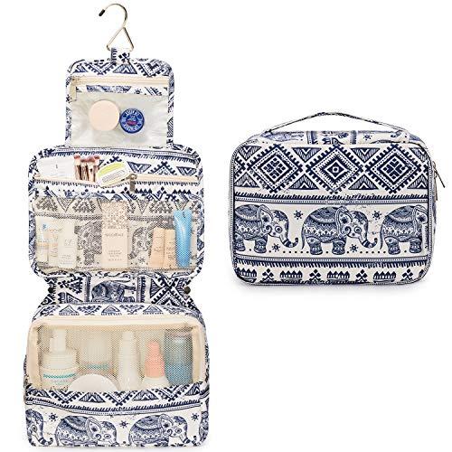 Travel Hanging Toiletry Wash Bag Makeup Cosmetic Organizer for Women...