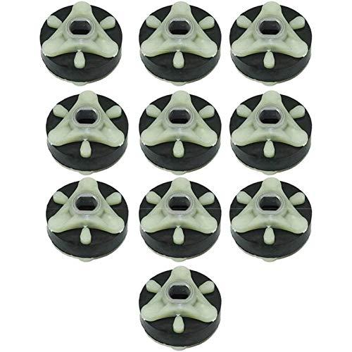 PUGONGYING Popular 10 Paquetes 285753A Lavadora Metal Acoplamientos de Motor Fits AP3963894 Fit For Whirlpool, Kenmore, Ayuda de la Cocina Durable