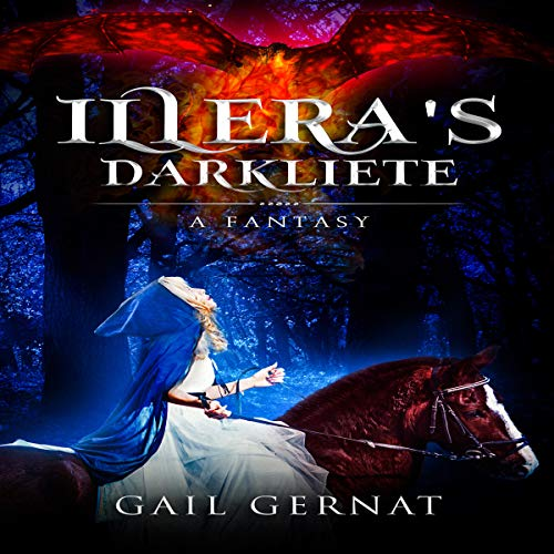 Illera's Darkliete audiobook cover art