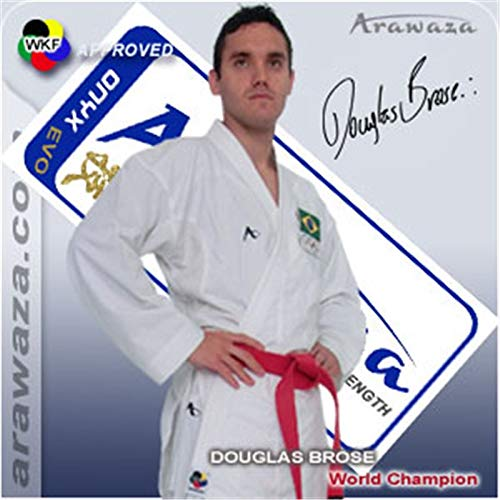 Arawaza Onyx-Evolution WKF Karate weiß junior Größe 165