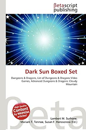 Dark Sun Boxed Set