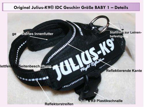 16idc-p-b1 Julius K9 ® IDC INNOVA comodidad de perro