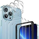 YOCKTECH Vetro Temperato Compatibile con iPhone New 13 Pro Max, per iPhone New 13 Pro Max Fotocamera Lenti Proteggi [3+3pezzi], Pellicola Protettiva, Fotocamera Proteggi per iPhone Pro Max 6.7 Pollici