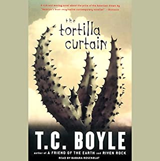 The Tortilla Curtain audiobook cover art