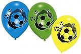 amscan - 414100 - 6 Ballons Latex Foot - 70 cm/8''