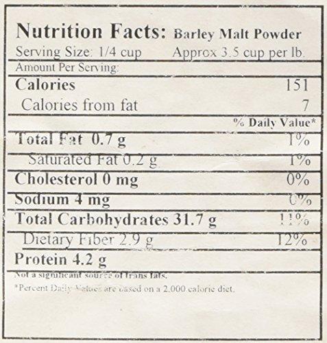 Barley Malt Powder, 1 lb.