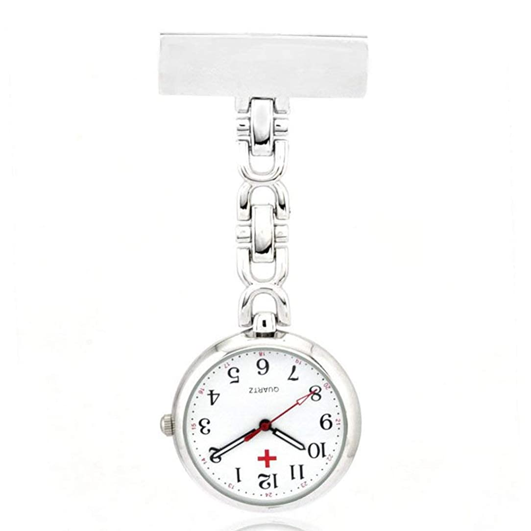 ガジュマル発火する復讐Tyou 懐中時計 クォーツ 腕時計 ウォッチ 逆さ時計 アナログ表示 逆さ文字盤 看護師さん 医師 男女兼用