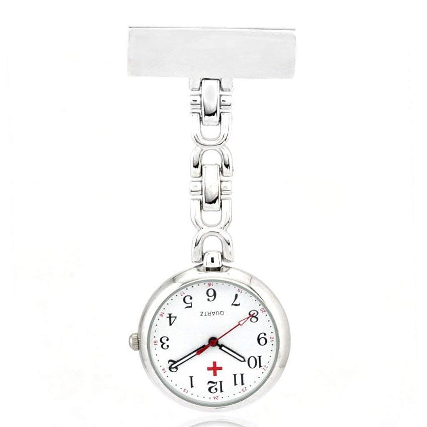 ストッキングれるアセTyou 懐中時計 クォーツ 腕時計 ウォッチ 逆さ時計 アナログ表示 逆さ文字盤 看護師さん 医師 男女兼用