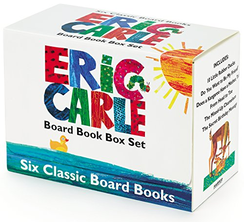 Eric Carle Six Classic Board Books Box Set (World of Eric Carle)