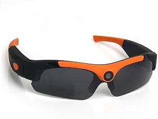 Gafas de Sol Deportivas Polarizadas Montañismo Ciclismo Gafas de sol polarizadas Naranja Tornado Ciclismo Correr Gafas de sol deportivas 1080P Gafas digitales inteligentes de alta definición Gafas de