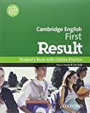 First Result 2015 Pack. Con 2 Online Test. CDROM [Lingua inglese]