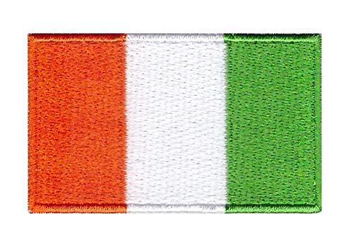 Applicatie om op te strijken, vlag van Ivoorkuste, 6 cm