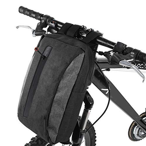 Qqmora Bolsa de Almacenamiento para Bicicletas Extensible Los Equipos de conducción de Gran Capacidad ofrecen amplios Compartimentos Principales y Algunos Bolsillos más pequeños. Amantes del