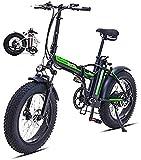 Bicicletas Eléctricas, Plegables bicicleta eléctrica for los adultos, bicicleta eléctrica / conmuta E-bici Con 5000W Motor, 48V 15Ah de la batería, Professional 7 Velocidad de Transmisión Engranajes 4