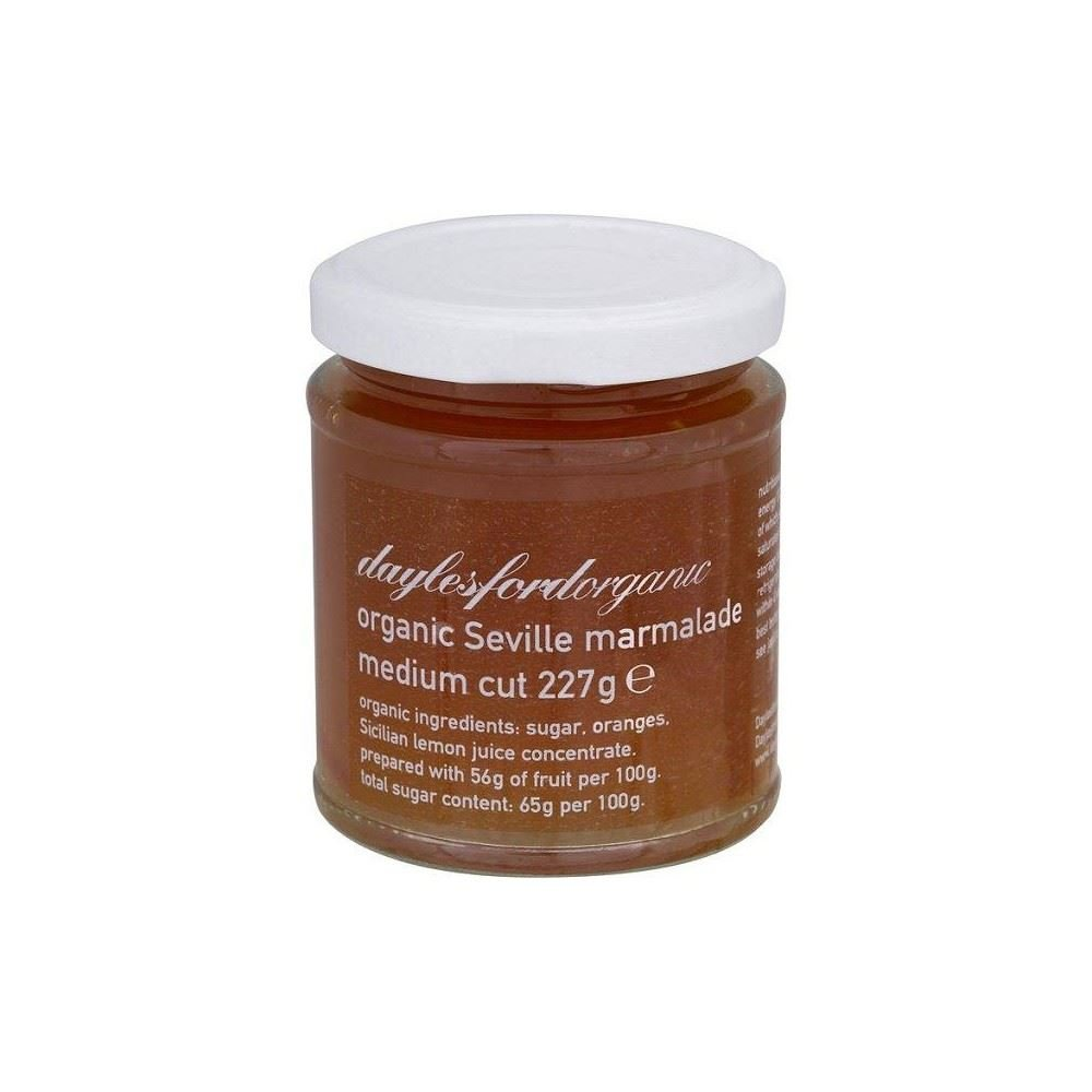 Daylesford Organic Seville Orange Marmalade 6 mart OFFicial store - Pack of 227g