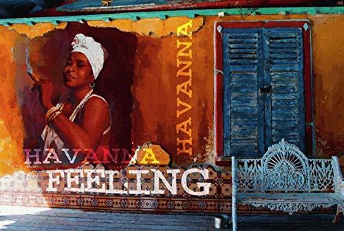 Schatzmix Cuba Libre Rezept, Havana, Cuba Flagge, Fahne, Cocktail, blechschild