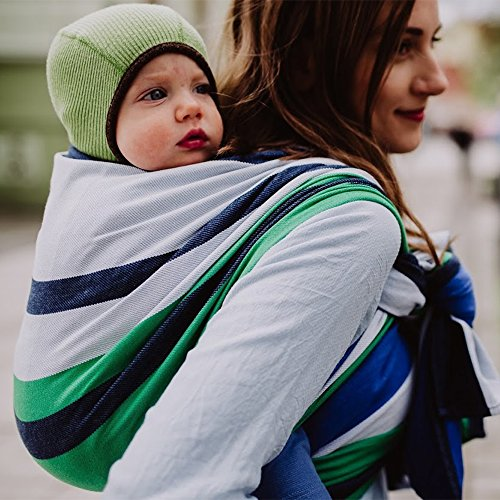 DIDYMOS Woven Wrap Baby Carrier Marie (Organic Cotton), Size 6 (470 cm)