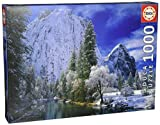 Yosemite Park Winter 1000-Piece Puzzle by Educa