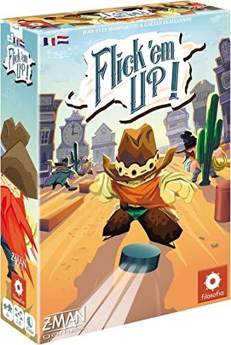 Flick 'em Up! (Plastic) - Bordspel - Welkom in de spannende wereld van Flick 'em Up! - Voor de hele familie - Taal: Nederlands
