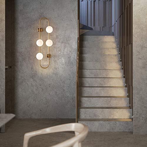 The only good quality wandlamp met glazen bol voor woonkamer wandlamp Design for Studio op nachtkastje Villa