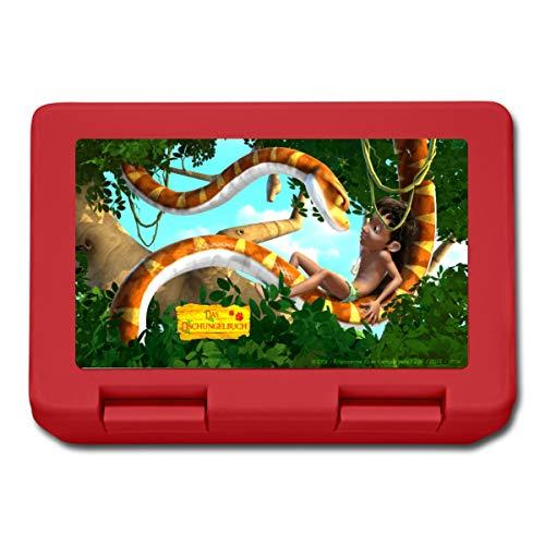 Das Dschungelbuch Mogli und Schlange Kaa Lunchbox, Rot