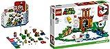Steinchenwelt Super Mario 71360 - Juego de 2 figuras de Super Mario (71360 aventuras con Mario – Set de iniciación + 71362 fortalecimiento vigorado)