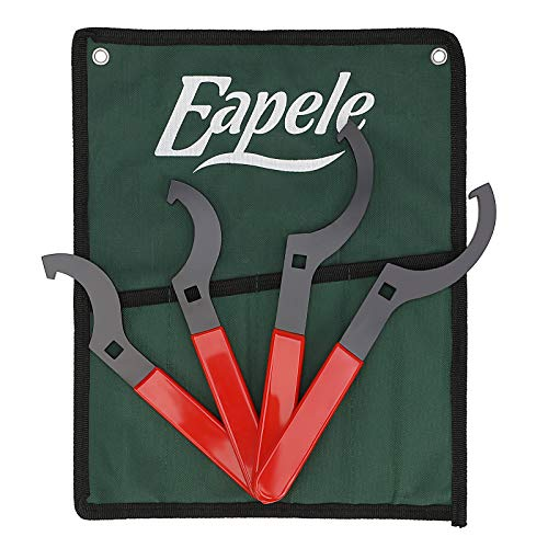 Eapele Coilover Wrench Shock Spanner Wrench 4pcs Set with 3/8