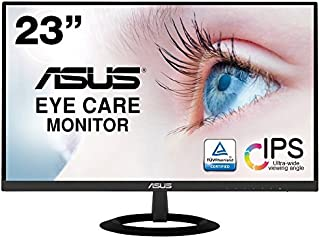 【Amazon.co.jp限定】ASUS フレームレス モニター 23インチ IPS 薄さ7mmのウルトラスリム ブルーライト軽減 フリッカーフリー HDMI,D-sub スピーカー VZ239HR