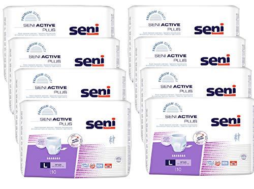 SENI Active Plus Inkontinenzslip Einmal L 8X10 St