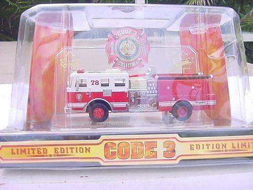 preferente CODE THREE SEAGRAVE PUMPER PUMPER PUMPER - HOUSTON NO. 78 (02451) by CODE THREE  100% autentico
