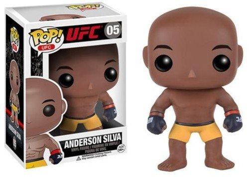 Funko 024457 No POP Vinylfigur: UFC: Anderson Silva