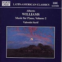 Williams:Piano Music Vol.2