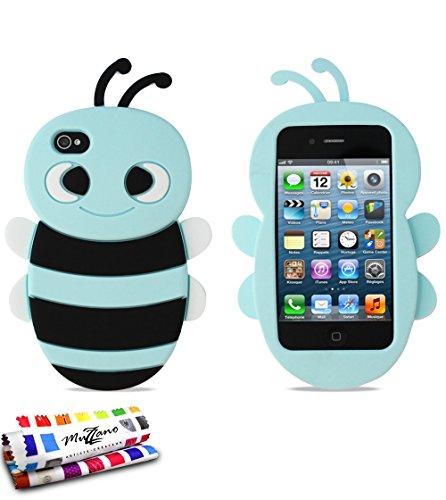 Muzzano, protezione ultra sottile per Apple iPhone 4di MUZZANO, ottima protezione antiurto, elegante e duratura per il tuo Apple iPhone 4