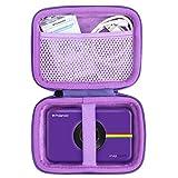 khanka Hard Travel Case Replacement for Kodak Step Touch & Polaroid Snap Touch Instant Print Digital Camera (Purple Zipper)