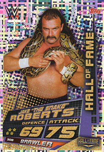 SLAM ATTAX UNIVERSE - Jake The Snake Roberts Hall of Fame Trading Karte - Wrestling