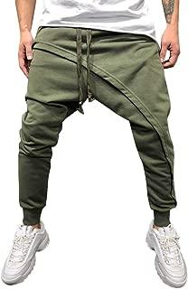Mens Pants, Mens Sports Pants Trousers Spring Joggers Solid Drawstring Sweatpants Loose Fit Jogger Pants