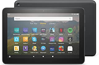 """All-New Fire HD 8 Tablet, 8"""" HD display, 64 GB, Black with Special Offers, designed for portable entertainment"""