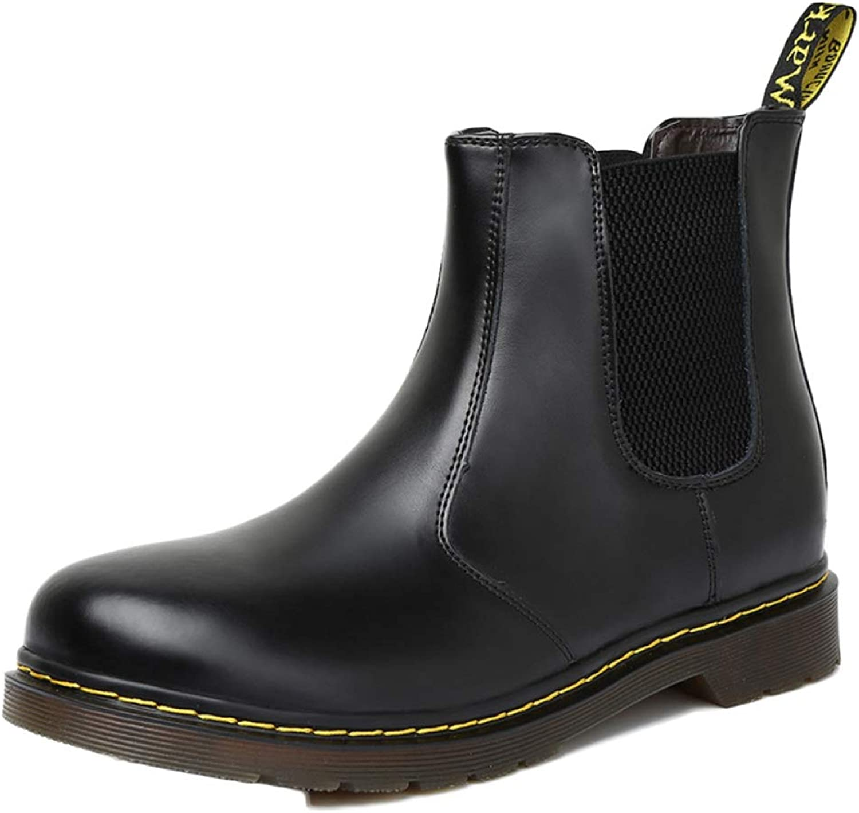 Men Chelsea Boots Leather Formal Martin Boot Desert Men's Classic Jobs Fighting Boots
