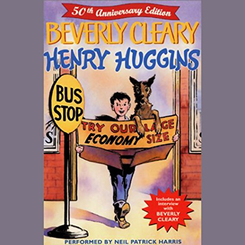 Henry Huggins audiobook cover art