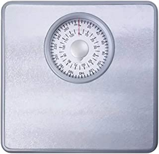 Bathroom Scales, Health Body Mechanical Scales - Easy Read Retro Analogue Scales, Sturdy Metal Platform,No Buttons/Batteri...