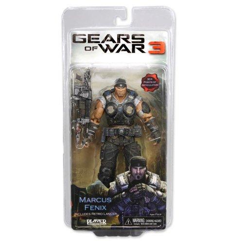 Gears of War 3 Series 1 Marcus Fenix Action Figure