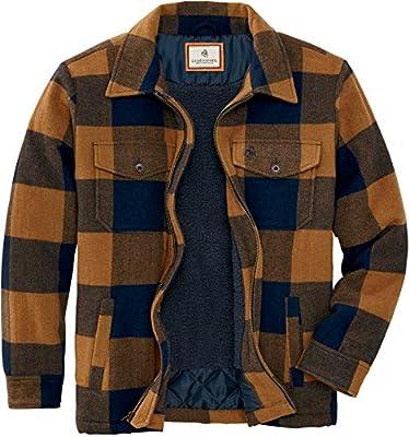 Legendary Whitetails Outdoorsman Jacket, Golden Night Plaid, Large from Legendary Whitetails