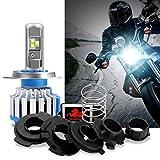 WinPower - H4/Ba20d/H6M/P15D25-3- Kit Conversión Bombillas Luces Delanteras Motocicleta LED CREE Hi/Lo 40W/35W - 1 Piezas