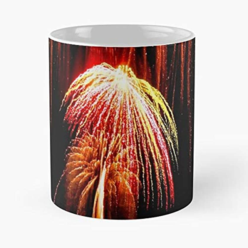 Fireworks 4th Of July Grucci - Coffee Mugs Unique Ceramic Novelty Cup