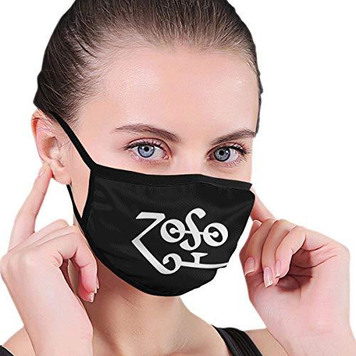 Zoso Staubwaschbarer, wiederverwendbarer Filter und wiederverwendbarer Mund, warm, winddicht, Baumwolle