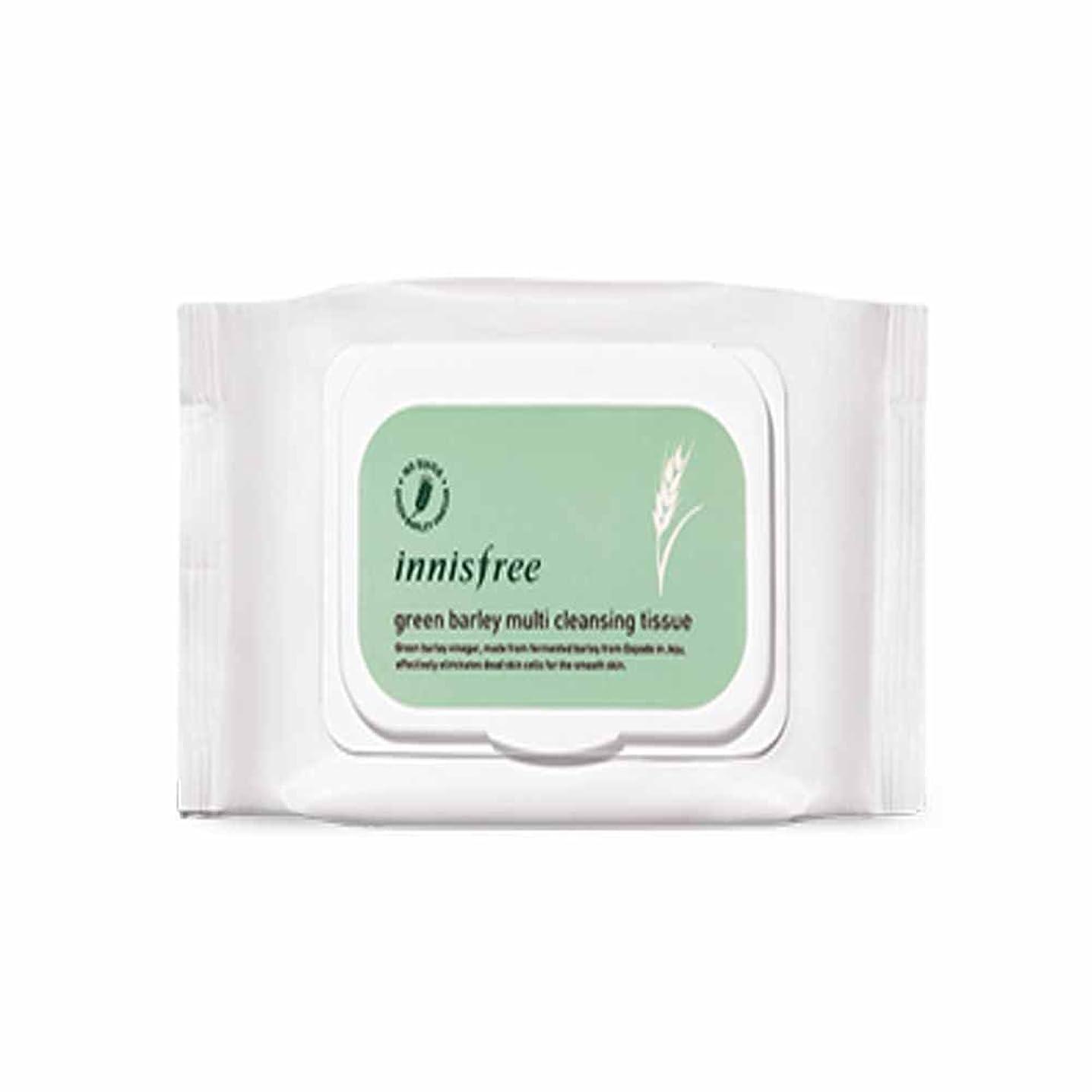 偽装するインカ帝国忍耐イニスフリーグリーンボレイクレンジングティッシュ50シートx 1個 / Innisfree Green Barley Cleansing Tissue 50 Sheets x 1pcs [海外直送品][並行輸入品]